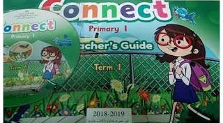 كتاب اللغة الانجليزية للصف الاول الابتدائي المنهج الجديد ترم اول 2019    المنهج
