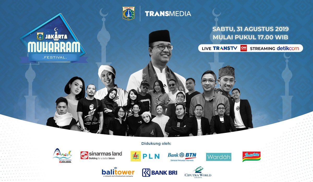 Penampakan Perayaan Tahun Baru Hijriah di Jakarta, Beda dengan Era Ahok?