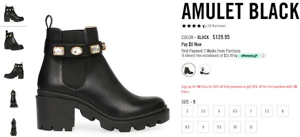 AMULET BLACK - Women's Heels for Sale (RMNOnline.net)