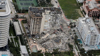 Surfside Miami Florida Condo Collapse 2021 (ABC News)