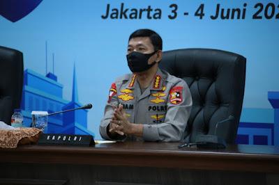 Buka Musrenbang Polri, Jenderal Polisi Drs Idham Azis.M.Si, Minta Optimalkan Anggaran Berbasis Kinerja