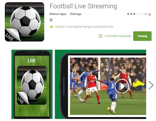 Aplikasi Streaming Bola
