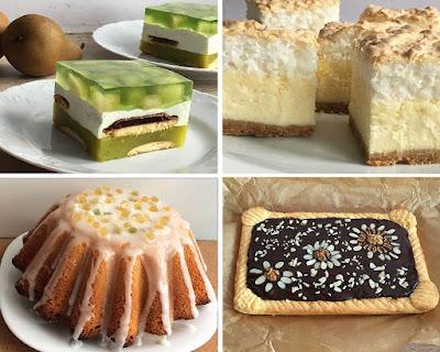 Ciasta na święta, babka, sernik, mazurek, Shrek