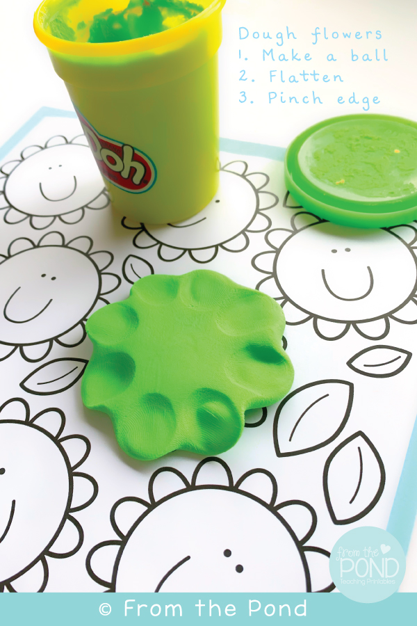 Flower Play Dough