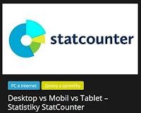 Desktop vs Mobil vs Tablet – Statistiky StatCounter - AzaNoviny
