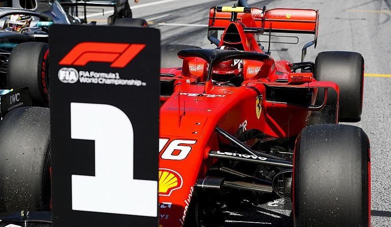 f1 hellenic fan club - Gp Αυστρίας : Ο Leclerc στην pole - «έβρεξε» ποινές πιο πίσω