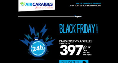VENTE FLASH AIR CARAIBES 2016-2017