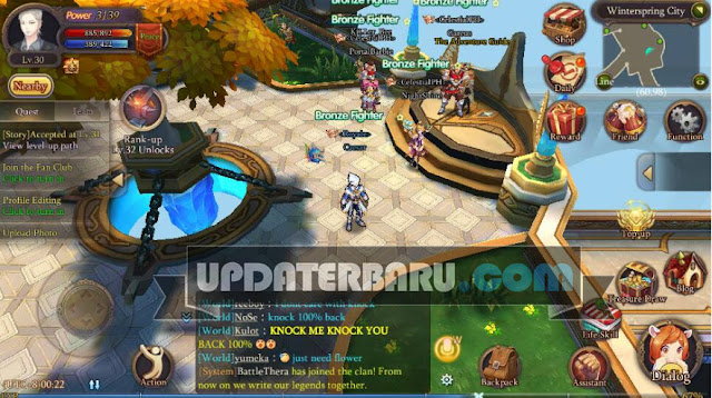 game Starry Fantasy Online English Apk v1.0.3 Game Seperti Dragon Nest