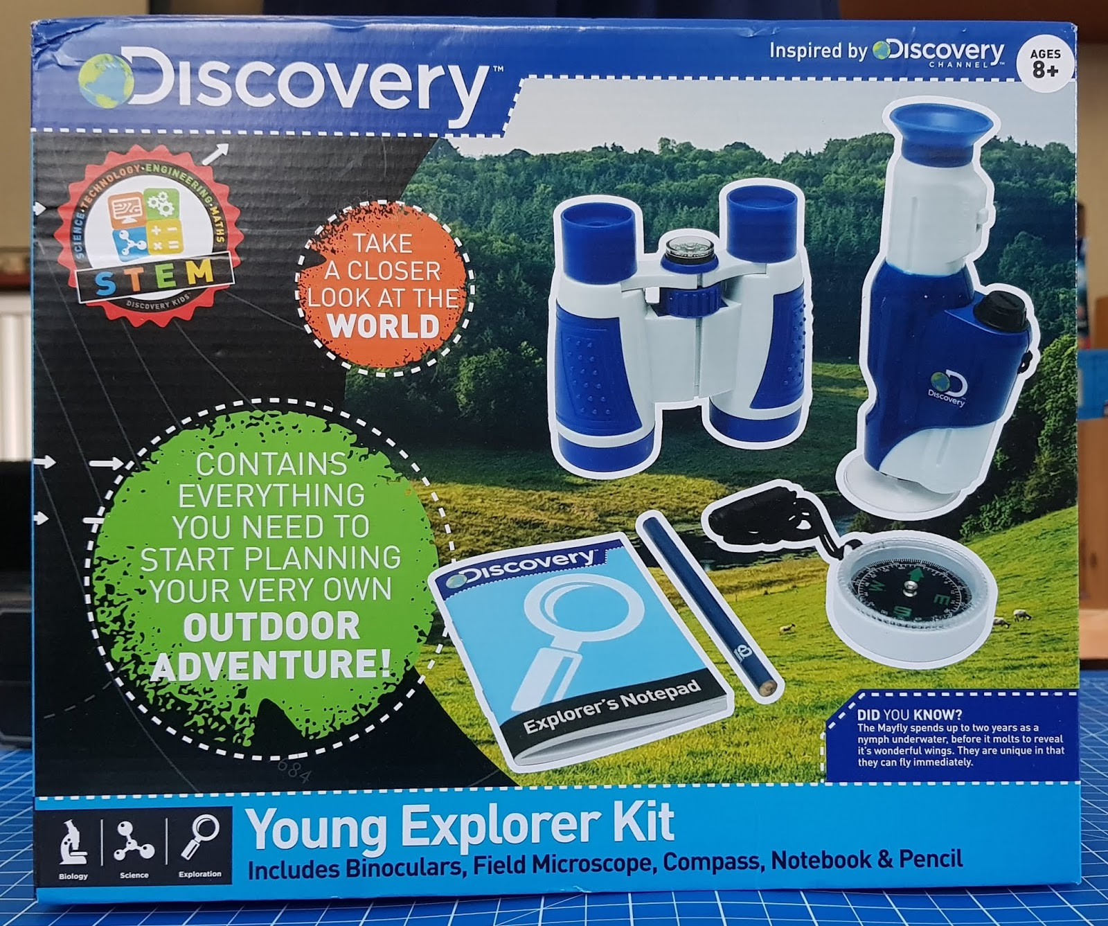 Discovery giveaways