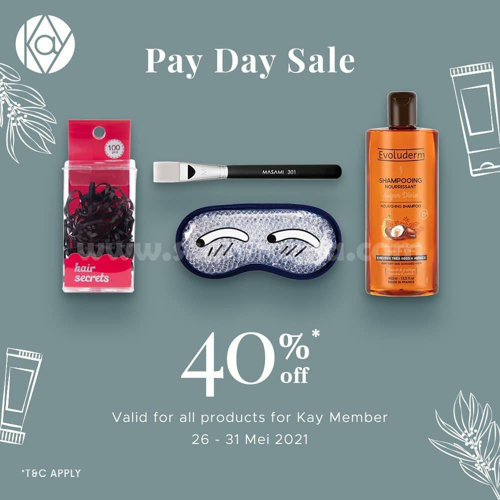 Promo KAY Collection PAYDAY Sale - Discount 40% All Items