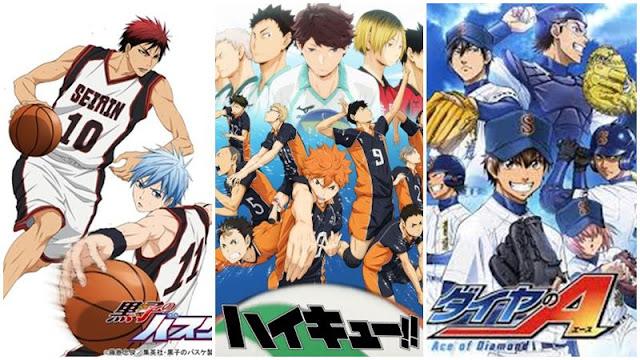 10 Anime Olahraga atau Sport Terbaik Wajib Ditonton