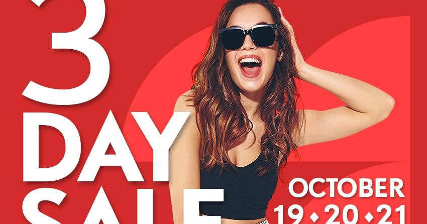 Manila Shopper Sm Malls 3 Day Sale Oct 19 21 2018