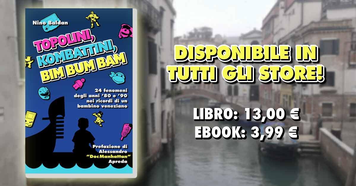 Il mio libro ''topolini, kombattini, bim bum bam'' è disponibile in ogni store online