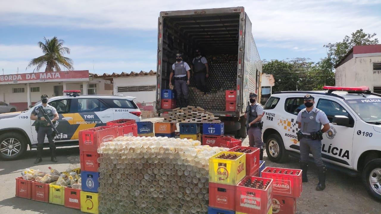 TOR prende homem transportando mais de 46 quilos de pasta base de cocaína