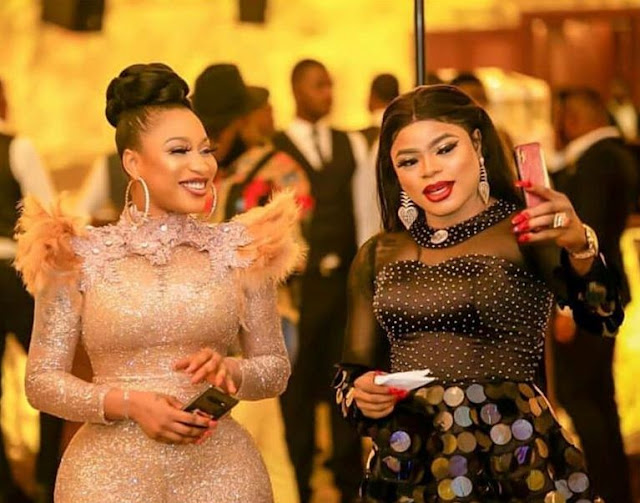 Revealed!!! Tonto Dikeh and Bobrisky Deceives Fans on Fake Surgery