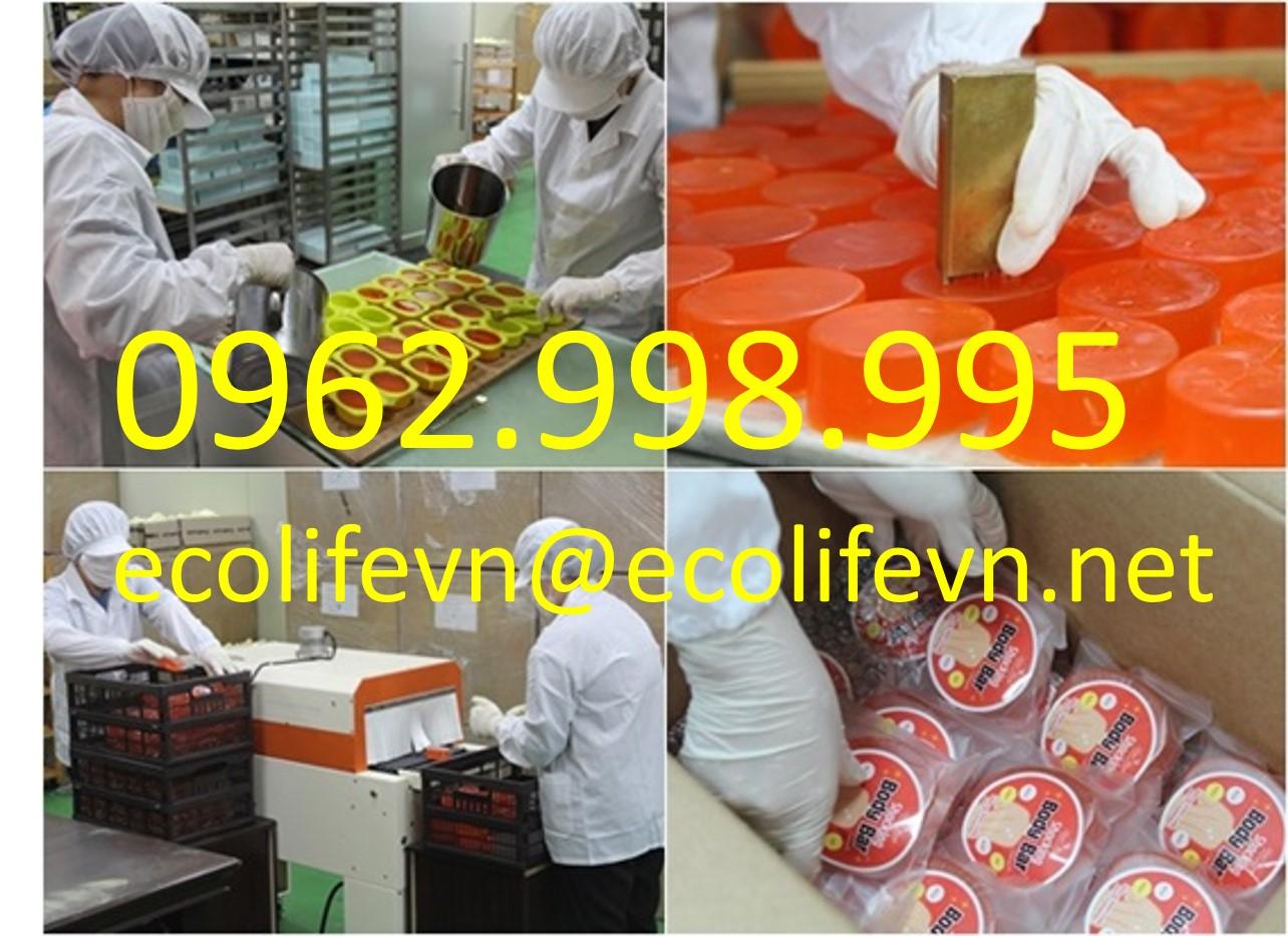 Quy trình sản xuất xà phòng handmade