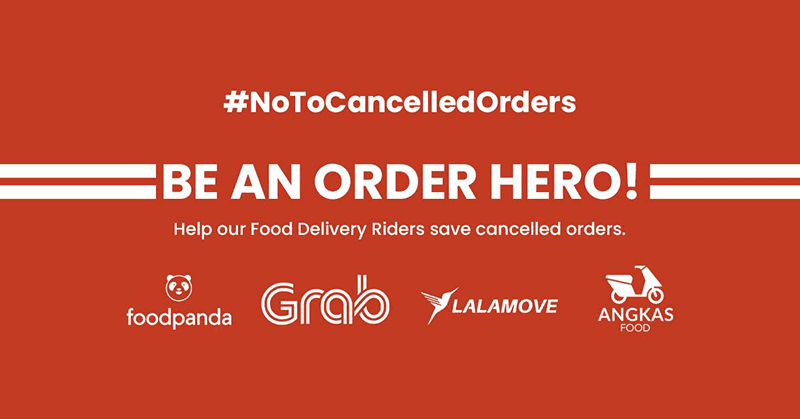 Order Hero helps delivery riders with canceled orders