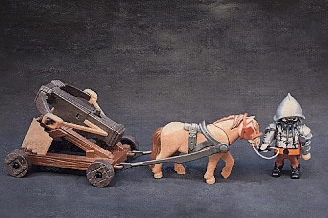 Playmobil custom fantasy dwarves warriors