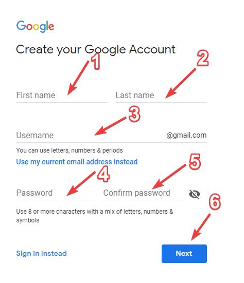 गूगल-खाता-कैसे-बनाये