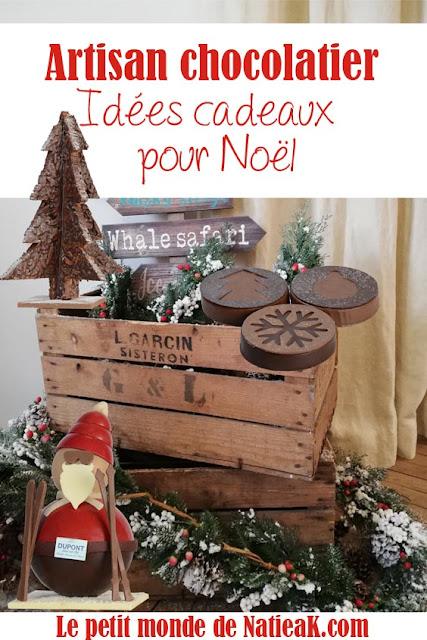 sélections de chocolats artisanaux Noël
