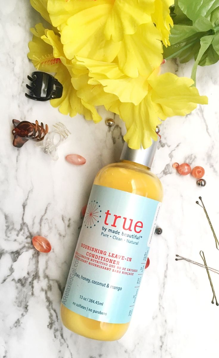 True By Made Beautiful Nourishing Leave-In Conditioner Review | A Relaxed Gal