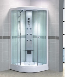 A Steam Shower Cabin