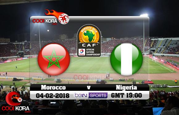 مشاهدة مباراة المغرب ونيجيريا اليوم 4-2-2018 نهائي بطولة أفريقيا للاعبين المحليين