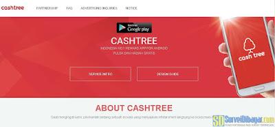 Aplikasi reward CashTree | SurveiDibayar.com