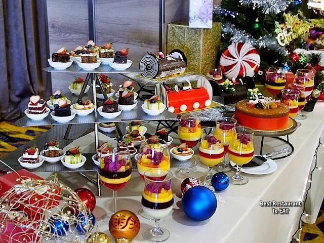 Wild Rice Restaurant Christmas 2019 Dessert Menu Selection