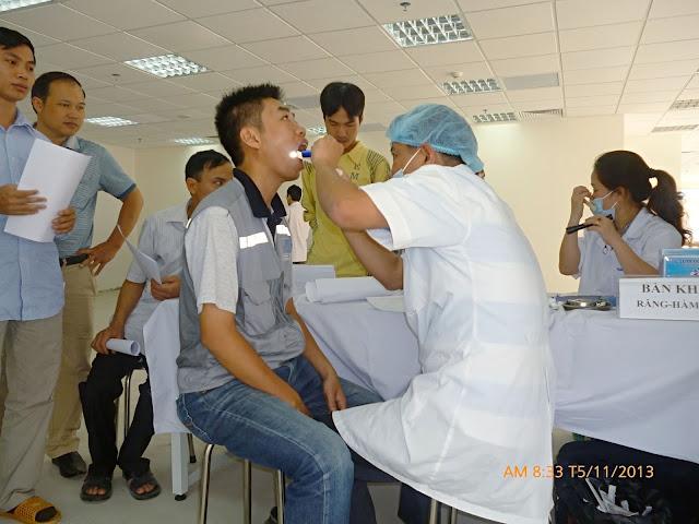 Quy trình kĩ thuật khám sức khỏe công ty cho các doanh nghiệp