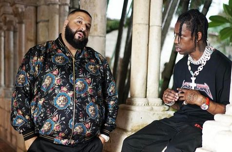 Khaled Collaborating with Travis Scott