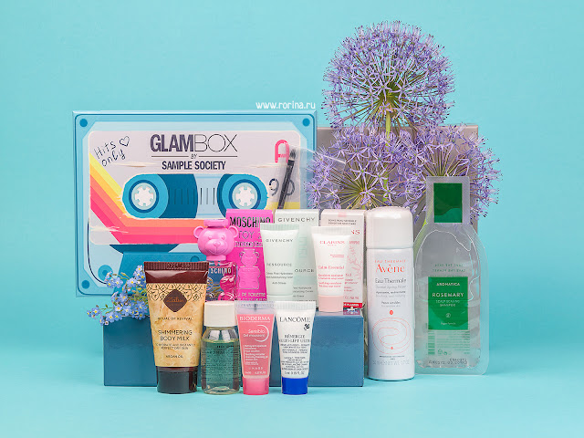 Glambox апрель: наполнение, отзывы, фото