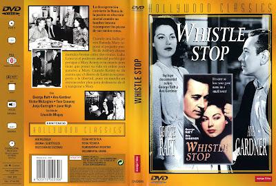 Carátula dvd: Señal de parada / Whistle Stop / Ava Gardner / George Raft