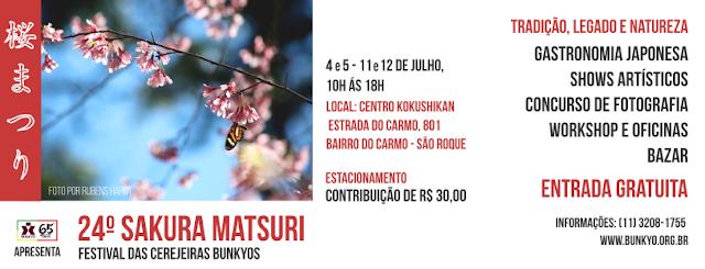SAKURA MATSURI - FESTIVAL DAS CEREJEIRAS BUNKYO