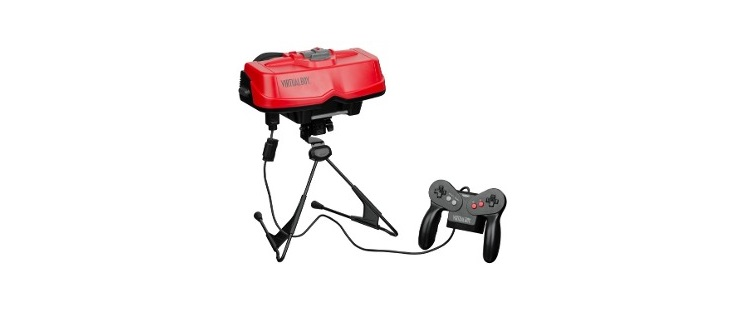 Virtual Boy de Nintendo - Grandes fracasos de marketing