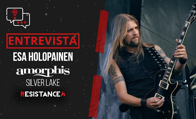 "Entrevista a Esa Holopainen, Amorphis/Silver Lake. ""Pasamos por tiempos donde ensayamos para tours y shows que no sucedieron"""