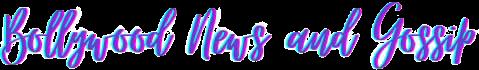 Bollywood News Hindi - Latest Bollywood News in Hindi, Bollywood Hindi News And Bollywood Gossip