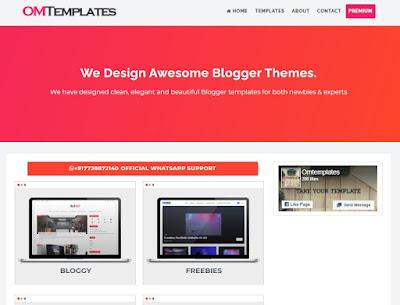 Best free and premium blogger templates 2021