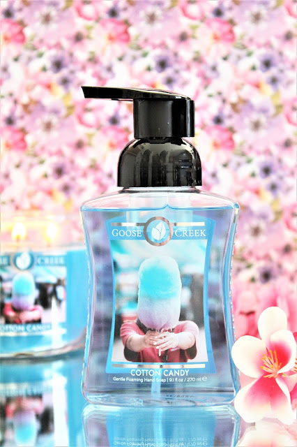 Goose Creek Cotton Candy Gentle Foaming Hand Soap avis, pousse mousse goose creek, savon pour les mains goose creek, goose creek foaming hand soap, goose creek savon avis, goose creek bodycare, goose creek cotton candy soap, parfum barbe à papa, cotton candy goose creek avis