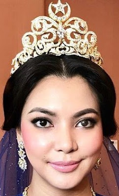 diamond crescent star tiara queen saleha brunei princess nur akmalia