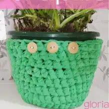 Macetera a Crochet