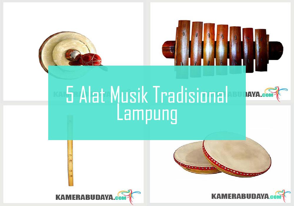 Inilah 5 Alat Musik Tradisional Dari Lampung