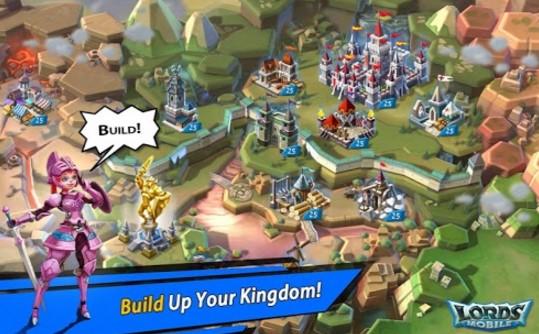Lords Mobile Mod APk terbaru