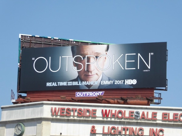 Real Time Bill Maher Outspoken Emmy FYC billboard