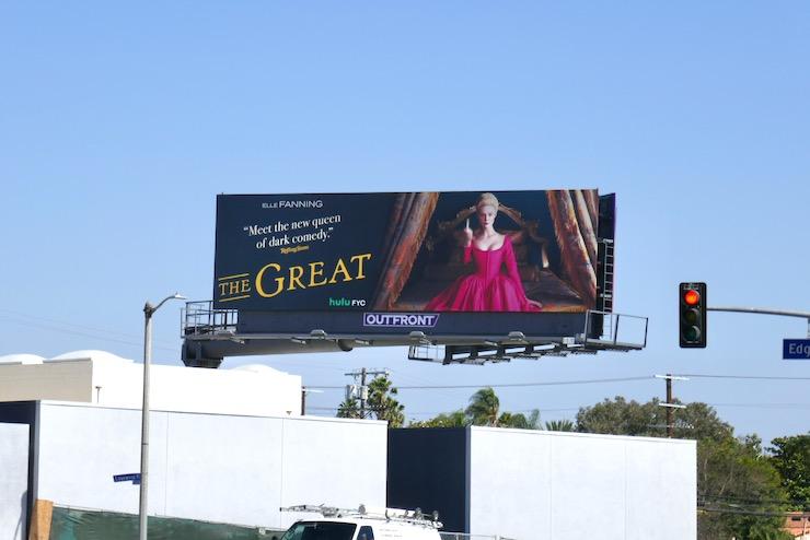 Great 2020 Emmy FYC billboard