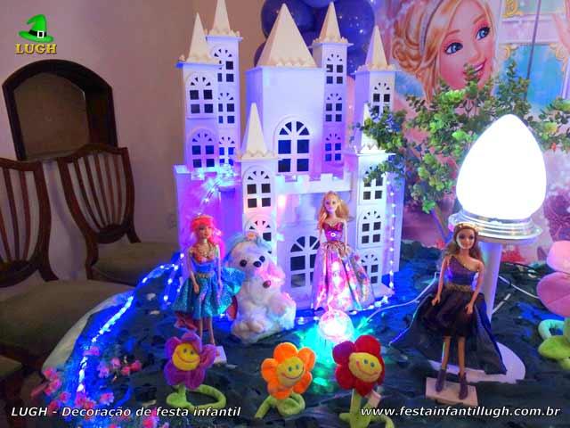 Barbie - Princesa e a Pop Star - Decoração temática para festa de aniversário infantil