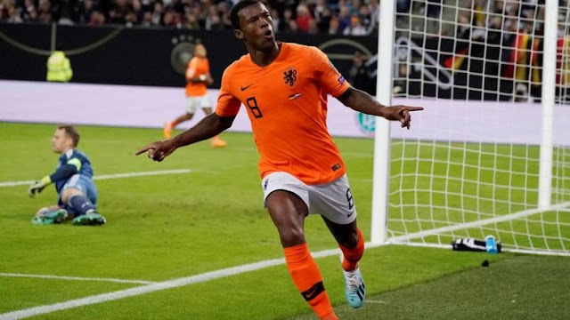 Netherlands scored multiple times in 32 second-half minutes to verify a wonderful 4-2 rebound triumph against hosts Germany in their Euro 2020 Group C qualifier on Friday.