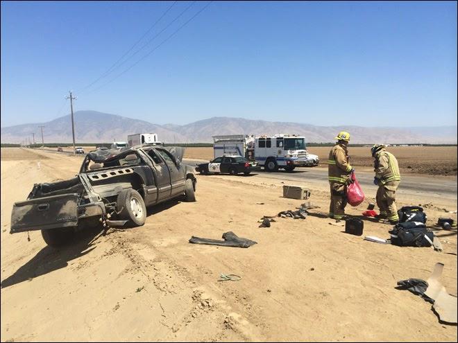 kern county bakersfield juan sanchez iniguez car crash fatally wounded gmc truck