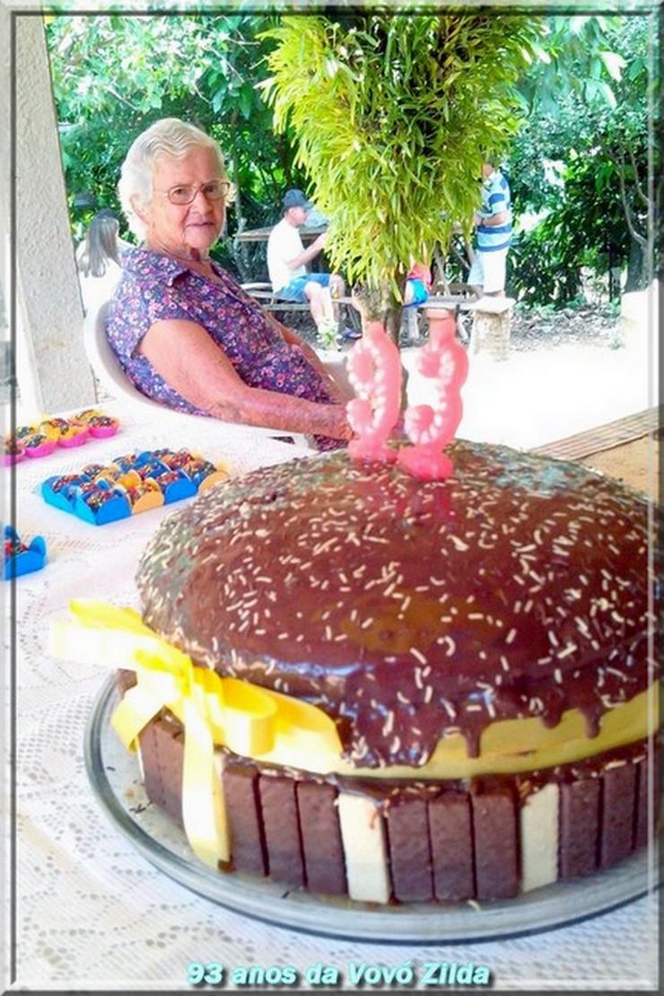 É festa: 93 anos da Vovó Zilda!