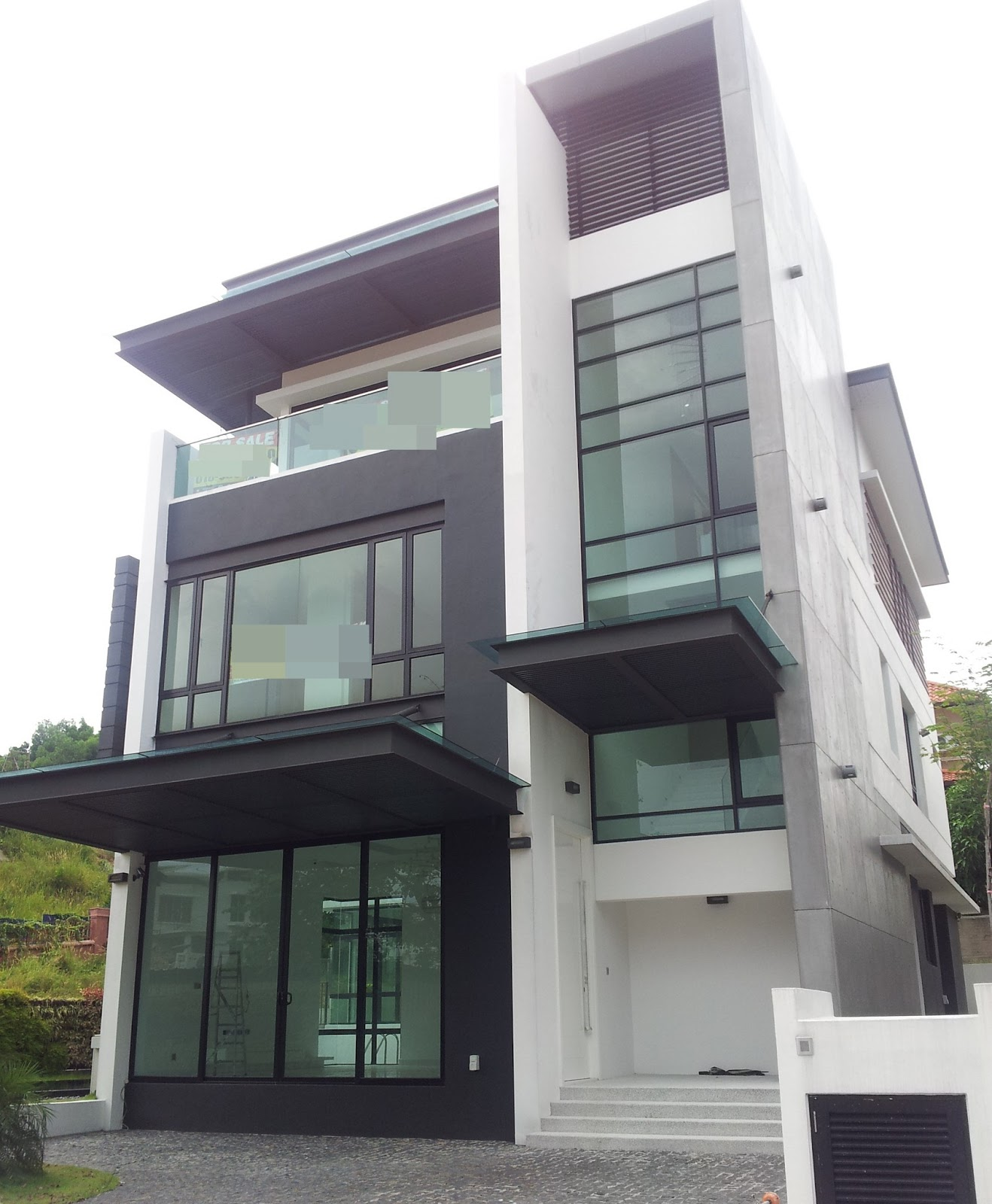 Bungalow Modern Design: Smile..You're Bout To Get A NEW HOME From Here..: 3 STOREY